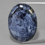 thumb image of 26.7ct Oval Cabochon Multicolor Pietersite (ID: 456180)