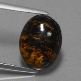 thumb image of 4.2ct Oval Cabochon Multicolor Pietersite (ID: 456516)