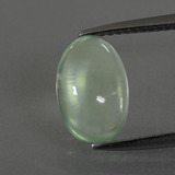 thumb image of 2.2ct Oval Cabochon Green Prehnite (ID: 389721)