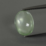 thumb image of 2.1ct Oval Cabochon Green Prehnite (ID: 389722)