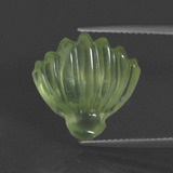 thumb image of 10.3ct Carved Fruit Green Prehnite (ID: 418036)
