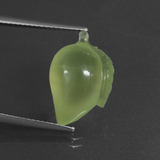 thumb image of 10.6ct Carved Fruit Green Prehnite (ID: 418435)
