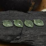 thumb image of 16.7ct Carved Leaf Green Prehnite (ID: 455174)
