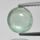 thumb image of 1.4ct Round Cabochon Green Prehnite (ID: 459006)