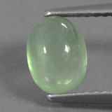 thumb image of 1.9ct Oval Cabochon Green Prehnite (ID: 459259)