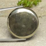 thumb image of 36.1ct Round Cabochon Gold Pyrite (ID: 486751)