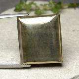 thumb image of 33.5ct Baguette Cabochon Gold Pyrite (ID: 488996)