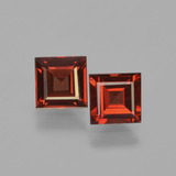 thumb image of 1.5ct Square Facet Red Pyrope Garnet (ID: 449972)