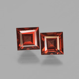 thumb image of 1.6ct Square Facet Red Pyrope Garnet (ID: 449973)