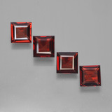 thumb image of 2.6ct Square Facet Red Pyrope Garnet (ID: 450145)