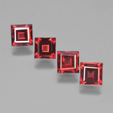thumb image of 2.8ct Square Facet Red Pyrope Garnet (ID: 450147)