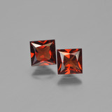 thumb image of 1.5ct Princess-Cut Red Pyrope Garnet (ID: 450294)