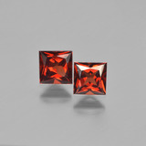 thumb image of 1.6ct Princess-Cut Red Pyrope Garnet (ID: 450297)