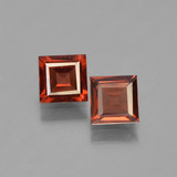 thumb image of 1.4ct Square Step-Cut Red Pyrope Garnet (ID: 450923)