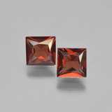 thumb image of 1.3ct Princess-Cut Red Pyrope Garnet (ID: 450926)