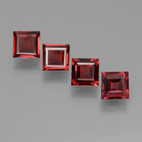 thumb image of 2.5ct Square Step-Cut Red Pyrope Garnet (ID: 450931)
