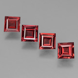 thumb image of 2.4ct Square Step-Cut Red Pyrope Garnet (ID: 450939)