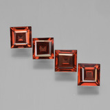 thumb image of 2.9ct Square Step-Cut Red Pyrope Garnet (ID: 450943)