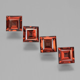 thumb image of 3ct Square Step-Cut Red Pyrope Garnet (ID: 450945)