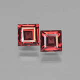 thumb image of 0.9ct Caree Stufenschliff Deep Blood Red Pyrop-Granat (ID: 450958)