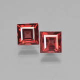 thumb image of 1.6ct Square Step-Cut Red Pyrope Garnet (ID: 450962)