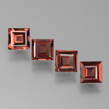 thumb image of 3ct Square Step-Cut Red Pyrope Garnet (ID: 450983)