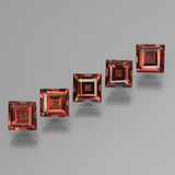 thumb image of 2.9ct Square Step-Cut Red Pyrope Garnet (ID: 450990)