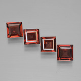 thumb image of 2.6ct Square Step-Cut Red Pyrope Garnet (ID: 450991)