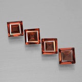 thumb image of 2.5ct Square Step-Cut Red Pyrope Garnet (ID: 450993)