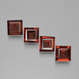 thumb image of 0.7ct Square Step-Cut Red Pyrope Garnet (ID: 450996)