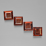 thumb image of 2.6ct Square Step-Cut Red Pyrope Garnet (ID: 451000)