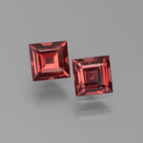 thumb image of 1.4ct Square Step-Cut Red Pyrope Garnet (ID: 451045)