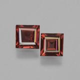 thumb image of 1.3ct Square Step-Cut Red Pyrope Garnet (ID: 451153)