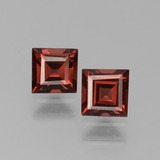 thumb image of 1.4ct Square Step-Cut Red Pyrope Garnet (ID: 451175)