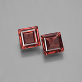 thumb image of 0.7ct Square Step-Cut Dark Red Pyrope Garnet (ID: 451190)