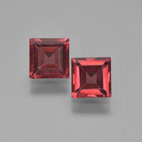 thumb image of 1.5ct Square Step-Cut Red Pyrope Garnet (ID: 451227)