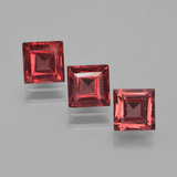 thumb image of 0.9ct Square Step-Cut Medium Red Pyrope Garnet (ID: 451229)