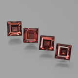 thumb image of 3.3ct Square Step-Cut Red Pyrope Garnet (ID: 451261)