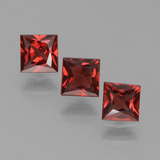 thumb image of 2.2ct Princess-Cut Red Pyrope Garnet (ID: 451304)