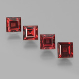 thumb image of 3.2ct Square Step-Cut Red Pyrope Garnet (ID: 451313)