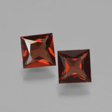 thumb image of 1.3ct Princess-Cut Red Pyrope Garnet (ID: 451314)