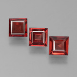 thumb image of 2.1ct Square Step-Cut Red Pyrope Garnet (ID: 451380)