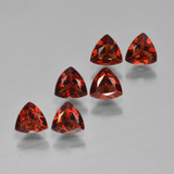 thumb image of 1.7ct Trillion Facet Red Pyrope Garnet (ID: 451584)