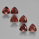 thumb image of 1.8ct Trillion Facet Red Pyrope Garnet (ID: 451585)