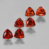 thumb image of 2.1ct Trillion Facet Red Pyrope Garnet (ID: 451586)
