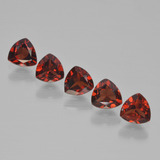 thumb image of 1.6ct Trillion Facet Red Pyrope Garnet (ID: 451662)