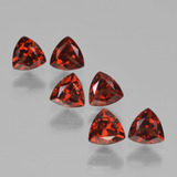 thumb image of 2ct Trillion Facet Red Pyrope Garnet (ID: 451668)