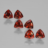 thumb image of 1.8ct Trillion Facet Red Pyrope Garnet (ID: 451669)