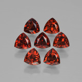 thumb image of 2.6ct Trillion Facet Red Pyrope Garnet (ID: 451672)
