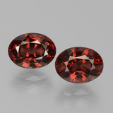 thumb image of 3.9ct Oval Facet Red Pyrope Garnet (ID: 451729)